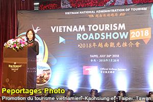 Promotion du tourisme vietnamien à Taïwan