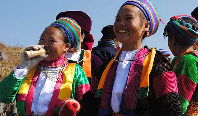 Mong ethnic people in Meo Vac celebrate New Year