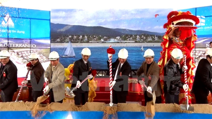 Thua Thien-Hue: Construction of Mediterraneo Resort begins