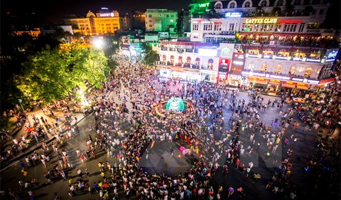 Ha Noi announces nine more pedestrian streets