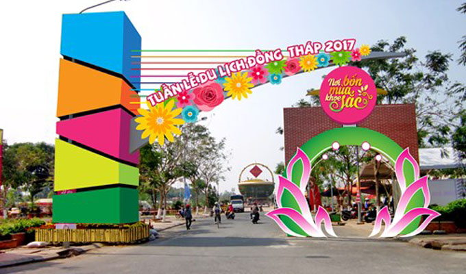 Dong Thap Tourism Week to welcome New Year