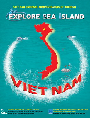 "Tourist Map ""Explore Sea Island Viet Nam"""