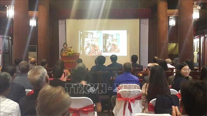 Book on Ha Noi's intangible cultural heritage debuts