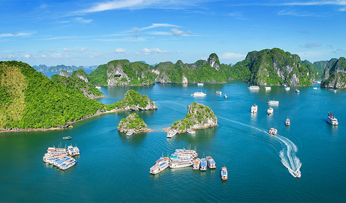 Ha Long - 2018 destination of Vietnamese photographers