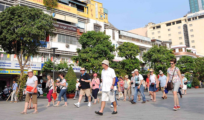 Ho Chi Minh City welcomes over 3.8 million international visitors in 6 months